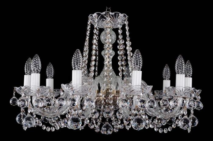 Фото Подвесная люстра Bohemia Ivele Crystal 1402 1402/10/240/Pa/Balls