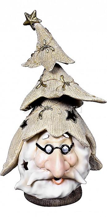 Дед Мороз Mister ChristmasДеды Морозы<br>Артикул - MC_SM-4B,Бренд - Mister Christmas (Россия),Коллекция - SM-4,Высота, мм - 245,Высота - 24.5 см,Цвет - бежевый,Материал - полистоун<br>