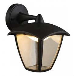Светильник на штанге GloboСветильники на штанге<br>Артикул - GB_31826,Бренд - Globo (Австрия),Коллекция - Delio,Гарантия, месяцы - 24,Высота, мм - 232,Тип лампы - светодиодная [LED],Общее кол-во ламп - 1,Напряжение питания лампы, В - 220,Максимальная мощность лампы, Вт - 7,Лампы в комплекте - светодиодная [LED],Цвет плафонов и подвесок - неокрашенный,Тип поверхности плафонов - прозрачный,Материал плафонов и подвесок - полимер,Цвет арматуры - черный,Тип поверхности арматуры - матовый,Материал арматуры - металл,Класс электробезопасности - I,Степень пылевлагозащиты, IP - 44,Диапазон рабочих температур - от -40^C до +40^C,Дополнительные параметры - способ крепления светильника к стене - на монтажной пластине, светильник предназначен для  использования со скрытой проводкой<br>
