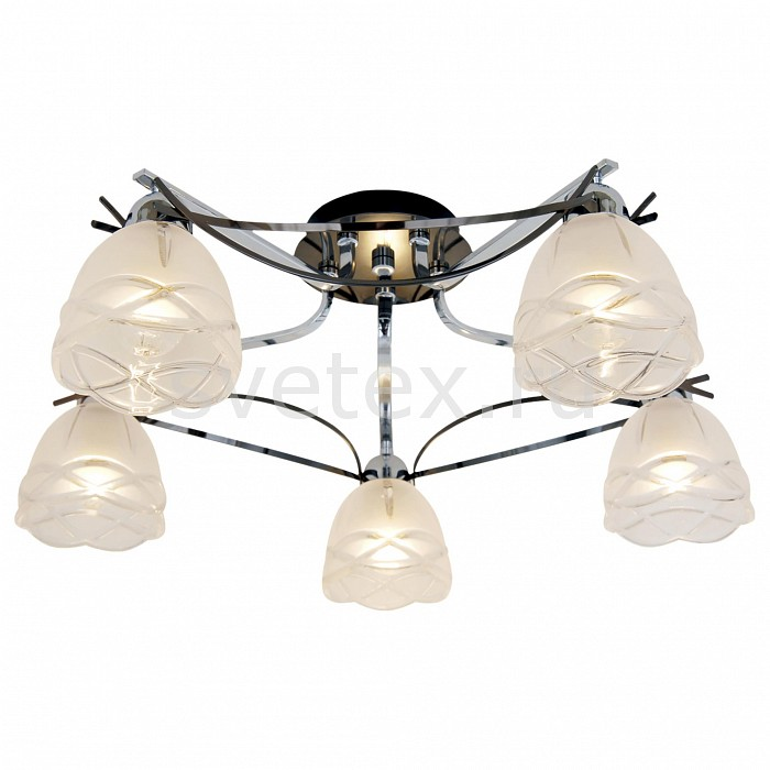 Потолочная люстра CitiluxЛюстры<br>Артикул - CL147151,Бренд - Citilux (Дания),Коллекция - Сандра,Гарантия, месяцы - 24,Время изготовления, дней - 1,Высота, мм - 225,Диаметр, мм - 580,Тип лампы - компактная люминесцентная [КЛЛ] ИЛИнакаливания ИЛИсветодиодная [LED],Общее кол-во ламп - 5,Напряжение питания лампы, В - 220,Максимальная мощность лампы, Вт - 60,Лампы в комплекте - отсутствуют,Цвет плафонов и подвесок - неокрашенный,Тип поверхности плафонов - матовый, рельефный,Материал плафонов и подвесок - стекло,Цвет арматуры - хром, черный хром,Тип поверхности арматуры - глянцевый,Материал арматуры - металл,Количество плафонов - 5,Возможность подлючения диммера - можно, если установить лампу накаливания,Тип цоколя лампы - E14,Класс электробезопасности - I,Общая мощность, Вт - 300,Степень пылевлагозащиты, IP - 20,Диапазон рабочих температур - комнатная температура<br>