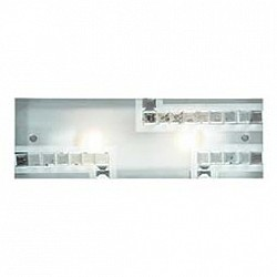 Накладной светильник SonexСветодиодные<br>Артикул - SN_2269A,Бренд - Sonex (Россия),Коллекция - Falko,Гарантия, месяцы - 24,Тип лампы - компактная люминесцентная [КЛЛ] ИЛИнакаливания ИЛИсветодиодная [LED],Общее кол-во ламп - 2,Напряжение питания лампы, В - 220,Максимальная мощность лампы, Вт - 60,Лампы в комплекте - отсутствуют,Цвет плафонов и подвесок - белый, неокрашенный,Тип поверхности плафонов - матовый, прозрачный,Материал плафонов и подвесок - стекло, хрусталь,Цвет арматуры - хром,Тип поверхности арматуры - матовый,Материал арматуры - металл,Возможность подлючения диммера - можно, если установить лампу накаливания,Тип цоколя лампы - E27,Класс электробезопасности - I,Общая мощность, Вт - 120,Степень пылевлагозащиты, IP - 20,Диапазон рабочих температур - комнатная температура<br>