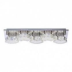 Накладной светильник GloboСветодиодные<br>Артикул - GB_49220-15W,Бренд - Globo (Австрия),Коллекция - Silurus,Гарантия, месяцы - 24,Размер упаковки, мм - 135x115x610,Тип лампы - светодиодная [LED],Общее кол-во ламп - 5,Напряжение питания лампы, В - 24,Максимальная мощность лампы, Вт - 3,Лампы в комплекте - светодиодные [LED],Цвет плафонов и подвесок - неокрашенный,Тип поверхности плафонов - прозрачный,Материал плафонов и подвесок - акрил,Цвет арматуры - хром,Тип поверхности арматуры - глянцевый,Материал арматуры - металл,Возможность подлючения диммера - нельзя,Класс электробезопасности - I,Общая мощность, Вт - 15,Степень пылевлагозащиты, IP - 20,Диапазон рабочих температур - комнатная температура,Дополнительные параметры - способ крепления светильника к потолку и стене - на монтажной пластине<br>