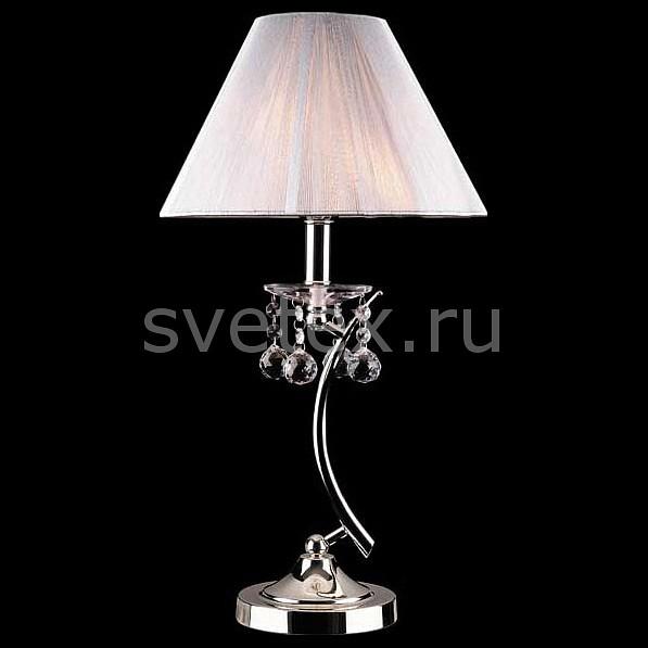Фото Настольная лампа Eurosvet 1087 1087/1 хром/серебристый Strotskis  настольная лампа