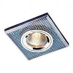 Встраиваемый светильник NovotechСветильники для натяжных потолков<br>Артикул - NV_369904,Бренд - Novotech (Венгрия),Коллекция - Shikku,Гарантия, месяцы - 24,Время изготовления, дней - 1,Тип лампы - галогеновая ИЛИсветодиодная [LED],Общее кол-во ламп - 1,Напряжение питания лампы, В - 12,Максимальная мощность лампы, Вт - 50,Лампы в комплекте - отсутствуют,Цвет арматуры - голубой, неокрашенный, хром,Тип поверхности арматуры - глянцевый,Материал арматуры - алюминиевый сплав,Возможность подлючения диммера - можно, если установить галогеновую лампу и подключить трансформатор 12 В с возможностью диммирования,Форма и тип колбы - полусферическая с рефлектором,Тип цоколя лампы - GX5.3,Класс электробезопасности - III,Общая мощность, Вт - 50,Степень пылевлагозащиты, IP - 20,Диапазон рабочих температур - комнатная температура,Дополнительные параметры - электрохимическая полировка арматуры<br>