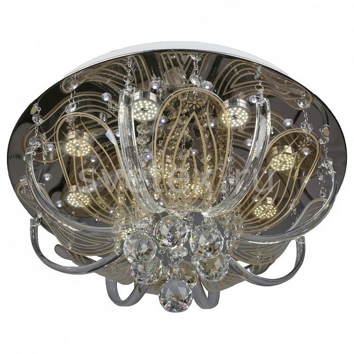 Потолочная люстра OmniluxСветодиодные<br>Артикул - OM_OML-14507-10,Бренд - Omnilux (Италия),Коллекция - OML-145,Гарантия, месяцы - 12,Высота, мм - 250,Диаметр, мм - 450,Размер упаковки, мм - 550x550x200,Тип лампы - светодиодная [LED],Общее кол-во ламп - 10,Напряжение питания лампы, В - 220,Максимальная мощность лампы, Вт - 3,Цвет лампы - белый,Лампы в комплекте - светодиодные [LED],Цвет плафонов и подвесок - неокрашенный,Тип поверхности плафонов - прозрачный,Материал плафонов и подвесок - стекло, хрусталь,Цвет арматуры - хром,Тип поверхности арматуры - глянцевый,Материал арматуры - металл,Наличие выключателя, диммера или пульта ДУ - пульт ДУ,Цветовая температура, K - 4000 K,Световой поток, лм - 4900,Экономичнее лампы накаливания - в 10 раз,Светоотдача, лм/Вт - 163,Класс электробезопасности - I,Общая мощность, Вт - 30,Степень пылевлагозащиты, IP - 20,Диапазон рабочих температур - комнатная температура,Дополнительные параметры - способ крепления светильника к потолку – на монтажной пластине, светильник декорирован сведиодами белого цвета<br>