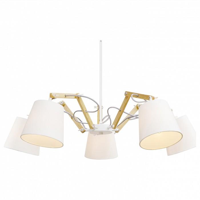 Фото Подвесная люстра Arte Lamp Pinocchio A5700LM-5WH