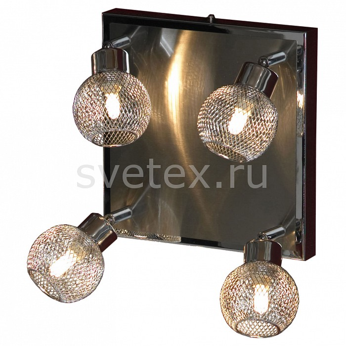 Спот LussoleКвадратные<br>Артикул - LSQ-3601-04,Бренд - Lussole (Италия),Коллекция - Treia,Гарантия, месяцы - 24,Время изготовления, дней - 1,Длина, мм - 330,Ширина, мм - 330,Выступ, мм - 150,Тип лампы - галогеновая,Общее кол-во ламп - 4,Напряжение питания лампы, В - 220,Максимальная мощность лампы, Вт - 40,Цвет лампы - белый теплый,Лампы в комплекте - галогеновые G9,Цвет плафонов и подвесок - хром,Тип поверхности плафонов - глянцевый,Материал плафонов и подвесок - металл,Цвет арматуры - никель, хром,Тип поверхности арматуры - глянцевый,Материал арматуры - металл,Количество плафонов - 4,Возможность подлючения диммера - можно,Форма и тип колбы - пальчиковая,Тип цоколя лампы - G9,Цветовая температура, K - 2800 - 3200 K,Экономичнее лампы накаливания - на 50%,Класс электробезопасности - I,Общая мощность, Вт - 160,Степень пылевлагозащиты, IP - 20,Диапазон рабочих температур - комнатная температура<br>