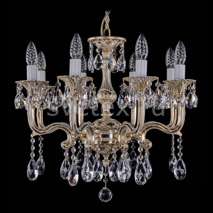 Фото Подвесная люстра Bohemia Ivele Crystal 1704 1704/8/150/A/GW