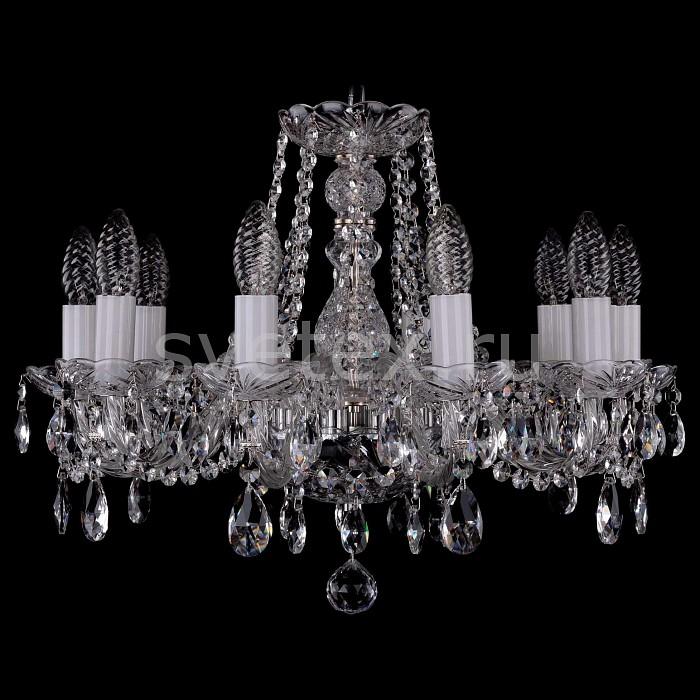 Фото Подвесная люстра Bohemia Ivele Crystal 1402 1402/10/160/Ni