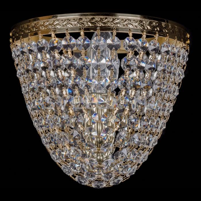 Фото Накладной светильник Bohemia Ivele Crystal 1925 1925/1/W/G