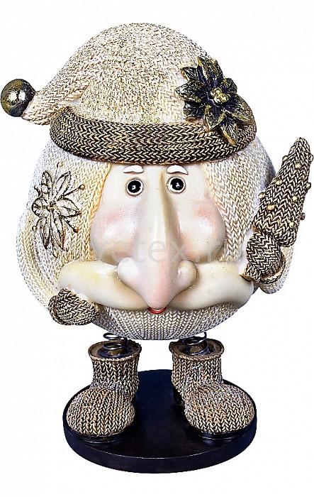 Дед Мороз Mister ChristmasДеды Морозы<br>Артикул - MC_SM-6B,Бренд - Mister Christmas (Россия),Коллекция - Дед Мороз,Высота, мм - 140,Высота - 14 см,Цвет - бежевый,Материал - полистоун<br>