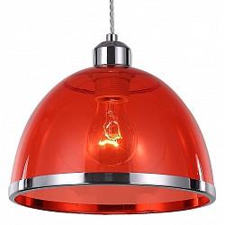 Подвесной светильник ST-LuceДля кухни<br>Артикул - SL481.603.01,Бренд - ST-Luce (Китай),Коллекция - SL481,Гарантия, месяцы - 24,Высота, мм - 1200,Диаметр, мм - 230,Размер упаковки, мм - 740х500х690,Тип лампы - компактная люминесцентная [КЛЛ] ИЛИнакаливания ИЛИсветодиодная [LED],Общее кол-во ламп - 1,Напряжение питания лампы, В - 220,Максимальная мощность лампы, Вт - 60,Лампы в комплекте - отсутствуют,Цвет плафонов и подвесок - красный, хром,Тип поверхности плафонов - глянцевый, прозрачный,Материал плафонов и подвесок - металл, полимер,Цвет арматуры - хром,Тип поверхности арматуры - глянцевый,Материал арматуры - металл,Возможность подлючения диммера - можно, если установить лампу накаливания,Тип цоколя лампы - E27,Класс электробезопасности - I,Степень пылевлагозащиты, IP - 20,Диапазон рабочих температур - комнатная температура,Дополнительные параметры - регулируется по высоте, способ крепления светильника к потолку – на монтажной пластине<br>