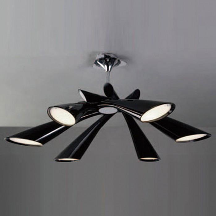 Люстра на штанге MantraПолимерные плафоны<br>Артикул - MN_0906,Бренд - Mantra (Испания),Коллекция - Pop,Гарантия, месяцы - 24,Время изготовления, дней - 1,Высота, мм - 260-350,Диаметр, мм - 820,Тип лампы - компактная люминесцентная [КЛЛ] ИЛИсветодиодная [LED],Общее кол-во ламп - 6,Напряжение питания лампы, В - 220,Максимальная мощность лампы, Вт - 13,Лампы в комплекте - отсутствуют,Цвет плафонов и подвесок - черный,Тип поверхности плафонов - глянцевый,Материал плафонов и подвесок - полимер,Цвет арматуры - хром,Тип поверхности арматуры - глянцевый,Материал арматуры - металл,Количество плафонов - 6,Возможность подлючения диммера - нельзя,Тип цоколя лампы - E27,Экономичнее лампы накаливания - в 5 раз,Класс электробезопасности - I,Общая мощность, Вт - 78,Степень пылевлагозащиты, IP - 20,Диапазон рабочих температур - комнатная температура<br>