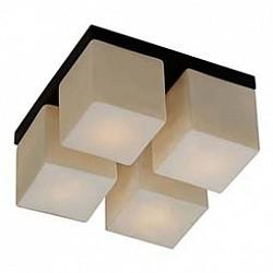 Накладной светильник Odeon LightКвадратные<br>Артикул - OD_2043_4C,Бренд - Odeon Light (Италия),Коллекция - Cubet,Гарантия, месяцы - 24,Время изготовления, дней - 1,Высота, мм - 150,Тип лампы - компактная люминесцентная [КЛЛ] ИЛИнакаливания ИЛИсветодиодная [LED],Общее кол-во ламп - 4,Напряжение питания лампы, В - 220,Максимальная мощность лампы, Вт - 40,Лампы в комплекте - отсутствуют,Цвет плафонов и подвесок - белый,Тип поверхности плафонов - матовый,Материал плафонов и подвесок - стекло,Цвет арматуры - венге,Тип поверхности арматуры - глянцевый,Материал арматуры - металл,Возможность подлючения диммера - можно, если установить лампу накаливания,Тип цоколя лампы - E14,Класс электробезопасности - I,Общая мощность, Вт - 160,Степень пылевлагозащиты, IP - 20,Диапазон рабочих температур - комнатная температура<br>