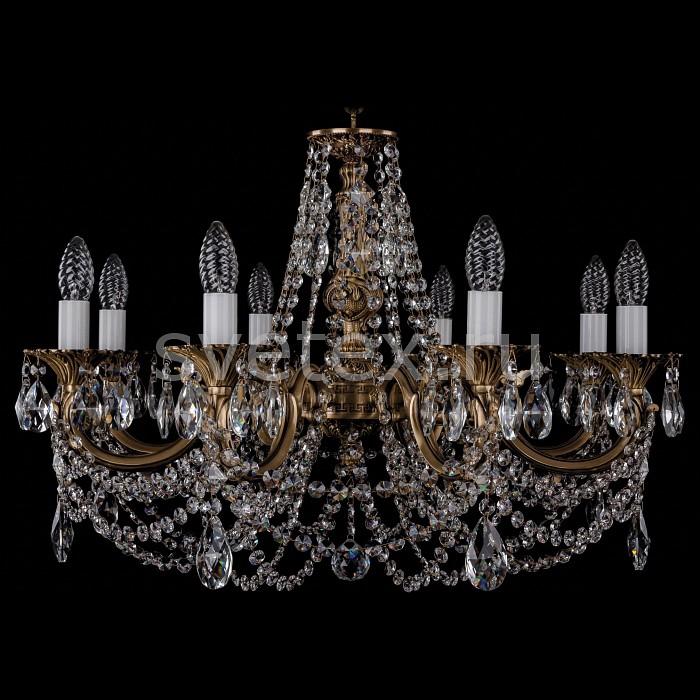Фото Подвесная люстра Bohemia Ivele Crystal 1702 1702/8/C/FP