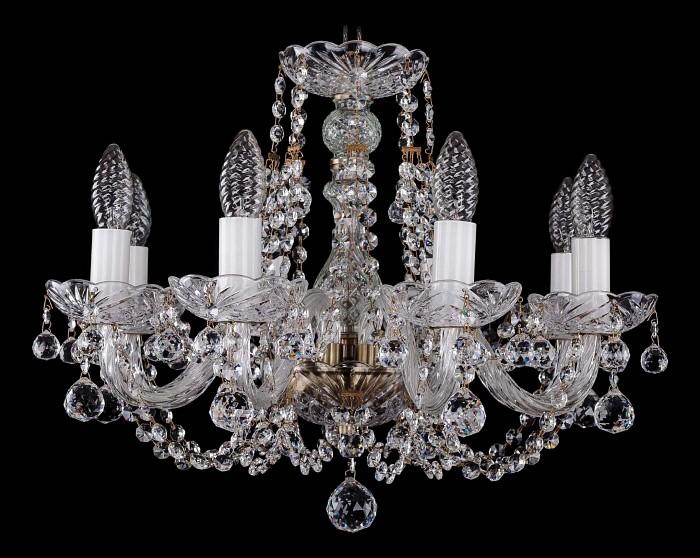 Фото Подвесная люстра Bohemia Ivele Crystal 1406 1406/8/160/Pa/Balls