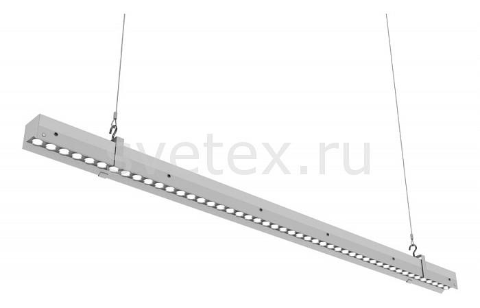 Подвесной светильник Led EffectСветодиодные<br>Артикул - LED_388761,Бренд - Led Effect (Россия),Коллекция - Ритейл Оптик,Гарантия, месяцы - 36,Длина, мм - 1185,Ширина, мм - 54,Высота, мм - 95,Размер упаковки, мм - 1200x60x100,Тип лампы - светодиодная [LED],Общее кол-во ламп - 1,Максимальная мощность лампы, Вт - 55,Цвет лампы - белый,Лампы в комплекте - светодиодная [LED],Цвет плафонов и подвесок - неокрашенный,Тип поверхности плафонов - прозрачный,Материал плафонов и подвесок - полимер,Цвет арматуры - белый,Тип поверхности арматуры - матовый,Материал арматуры - металл,Количество плафонов - 1,Цветовая температура, K - 4000 K,Световой поток, лм - 5300,Экономичнее лампы накаливания - В 5, 9 раза,Светоотдача, лм/Вт - 96,Ресурс лампы - 50 тыс. час.,Класс электробезопасности - I,Напряжение питания, В - 175-260,Коэффициент мощности - 0.95,Степень пылевлагозащиты, IP - 20,Диапазон рабочих температур - от -60^C до +50^C,Индекс цветопередачи, % - 80,Пульсации светового потока, % менее - 1,Климатическое исполнение - УХЛ 4,Дополнительные параметры - указана высота светильника без подвеса<br>