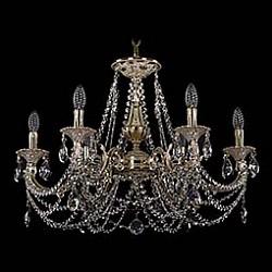Подвесная люстра Bohemia Ivele Crystal5 или 6 ламп<br>Артикул - BI_1702_6_C_GI,Бренд - Bohemia Ivele Crystal (Чехия),Коллекция - 1702,Гарантия, месяцы - 24,Высота, мм - 480,Диаметр, мм - 700,Размер упаковки, мм - 510x510x200,Тип лампы - компактная люминесцентная [КЛЛ] ИЛИнакаливания ИЛИсветодиодная [LED],Общее кол-во ламп - 6,Напряжение питания лампы, В - 220,Максимальная мощность лампы, Вт - 40,Лампы в комплекте - отсутствуют,Цвет плафонов и подвесок - неокрашенный,Тип поверхности плафонов - прозрачный,Материал плафонов и подвесок - хрусталь,Цвет арматуры - золото, слоновая кость,Тип поверхности арматуры - глянцевый, рельефный,Материал арматуры - латунь,Возможность подлючения диммера - можно, если установить лампу накаливания,Форма и тип колбы - свеча ИЛИ свеча на ветру,Тип цоколя лампы - E14,Класс электробезопасности - I,Общая мощность, Вт - 240,Степень пылевлагозащиты, IP - 20,Диапазон рабочих температур - комнатная температура,Дополнительные параметры - способ крепления светильника к потолку - на крюке, указана высота светильника без подвеса<br>