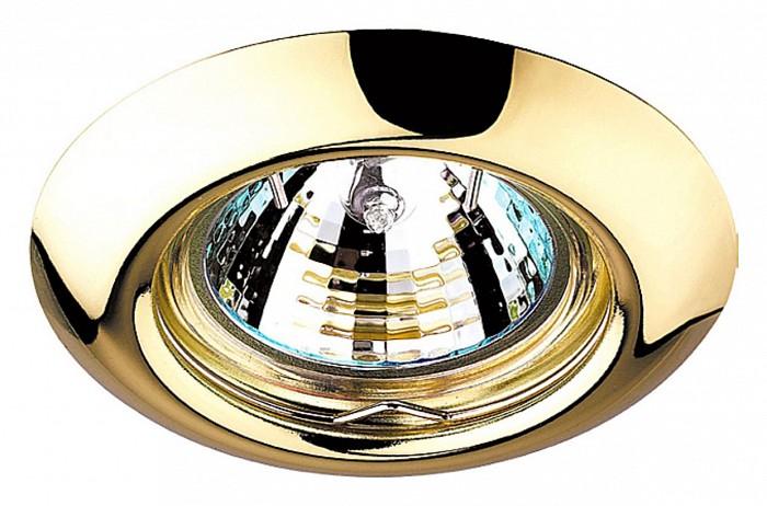 Встраиваемый светильник NovotechВстраиваемые светильники<br>Артикул - NV_369113,Бренд - Novotech (Венгрия),Коллекция - Tor,Гарантия, месяцы - 24,Время изготовления, дней - 1,Глубина, мм - 25,Диаметр, мм - 80,Размер врезного отверстия, мм - 60,Тип лампы - галогеновая ИЛИсветодиодная [LED],Общее кол-во ламп - 1,Напряжение питания лампы, В - 12,Максимальная мощность лампы, Вт - 50,Лампы в комплекте - отсутствуют,Цвет арматуры - золото,Тип поверхности арматуры - глянцевый,Материал арматуры - сталь,Возможность подлючения диммера - можно, если установить галогеновую лампу,Форма и тип колбы - полусферическая с рефлектором ИЛИполусферическая с радиатором,Тип цоколя лампы - GX5.3,Экономичнее лампы накаливания - на 50%,Класс электробезопасности - III,Напряжение питания, В - 220,Степень пылевлагозащиты, IP - 20,Диапазон рабочих температур - комнатная температура,Дополнительные параметры - возможна установка лампы GX5.3 (MR-16) на 12 В с подключением через трансформатор 12 В<br>