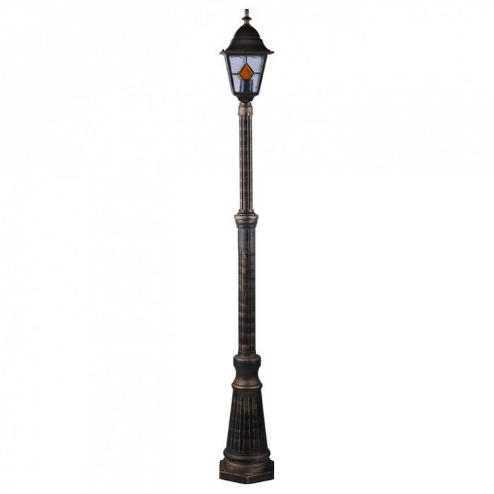 Фото Фонарный столб Arte Lamp Berlin A1017PA-1BN