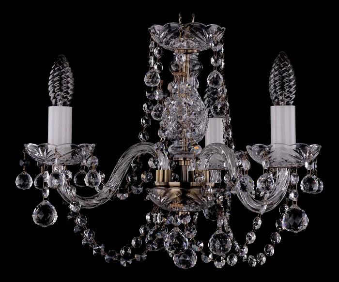 Фото Подвесная люстра Bohemia Ivele Crystal 1406 1406/3/141/Pa/Balls