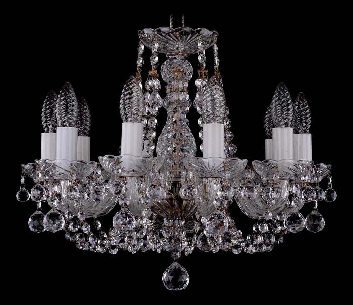 Фото Подвесная люстра Bohemia Ivele Crystal 1406 1406/10/141/Pa/Balls