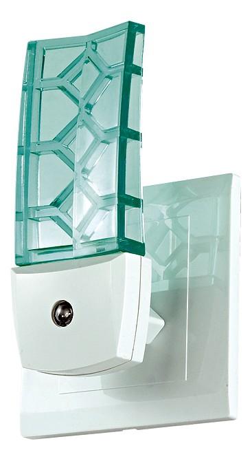 Ночник NovotechНочники<br>Артикул - NV_357330,Бренд - Novotech (Венгрия),Коллекция - Night Light,Гарантия, месяцы - 24,Длина, мм - 120,Ширина, мм - 50,Выступ, мм - 44,Размер упаковки, мм - 140х190,Тип лампы - светодиодная [LED],Общее кол-во ламп - 1,Напряжение питания лампы, В - 220,Максимальная мощность лампы, Вт - 0.5,Цвет лампы - белый голубоватый,Лампы в комплекте - светодиодная [LED],Цвет плафонов и подвесок - зеленый,Тип поверхности плафонов - прозрачный, рельефный,Материал плафонов и подвесок - полимер,Цвет арматуры - белый,Тип поверхности арматуры - матовый,Материал арматуры - полимер,Количество плафонов - 1,Наличие выключателя, диммера или пульта ДУ - датчик освещенности,Компоненты, входящие в комплект - розетка без заземления,Цветовая температура, K - 9000 K,Класс электробезопасности - II,Степень пылевлагозащиты, IP - 20,Диапазон рабочих температур - комнатная температура,Дополнительные параметры - светильник включается автоматически<br>