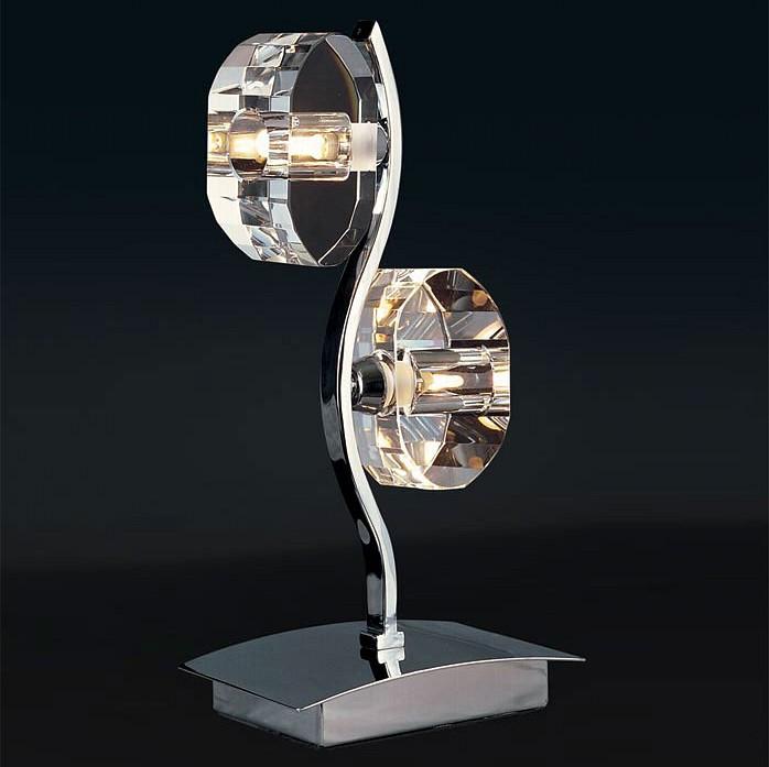 Настольная лампа MantraСтеклянный плафон<br>Артикул - MN_0427,Бренд - Mantra (Испания),Коллекция - Alfa,Гарантия, месяцы - 24,Время изготовления, дней - 1,Ширина, мм - 160,Высота, мм - 340,Тип лампы - галогеновая,Общее кол-во ламп - 2,Напряжение питания лампы, В - 220,Максимальная мощность лампы, Вт - 40,Цвет лампы - белый теплый,Лампы в комплекте - галогеновые G9,Цвет плафонов и подвесок - неокрашенный,Тип поверхности плафонов - прозрачный,Материал плафонов и подвесок - стекло,Цвет арматуры - хром,Тип поверхности арматуры - глянцевый,Материал арматуры - металл,Количество плафонов - 2,Наличие выключателя, диммера или пульта ДУ - выключатель,Компоненты, входящие в комплект - провод электропитания с вилкой без заземления,Форма и тип колбы - пальчиковая,Тип цоколя лампы - G9,Цветовая температура, K - 2800 - 3200 K,Экономичнее лампы накаливания - на 50%,Класс электробезопасности - II,Общая мощность, Вт - 80,Степень пылевлагозащиты, IP - 20,Диапазон рабочих температур - комнатная температура<br>