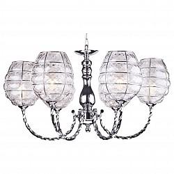 Подвесная люстра Arte Lamp5 или 6 ламп<br>Артикул - AR_A2256LM-6CC,Бренд - Arte Lamp (Италия),Коллекция - Tokyo,Высота, мм - 380-880,Диаметр, мм - 660,Тип лампы - компактная люминесцентная [КЛЛ] ИЛИнакаливания ИЛИсветодиодная [LED],Общее кол-во ламп - 6,Напряжение питания лампы, В - 220,Максимальная мощность лампы, Вт - 60,Лампы в комплекте - отсутствуют,Цвет плафонов и подвесок - неокрашенный,Тип поверхности плафонов - прозрачный, рельефный,Материал плафонов и подвесок - стекло,Цвет арматуры - хром,Тип поверхности арматуры - глянцевый, рельефный,Материал арматуры - металл,Возможность подлючения диммера - можно, если установить лампу накаливания,Тип цоколя лампы - E14,Класс электробезопасности - I,Общая мощность, Вт - 360,Степень пылевлагозащиты, IP - 20,Диапазон рабочих температур - комнатная температура,Дополнительные параметры - способ крепления светильника к потолку – на монтажной пластине или крюке<br>