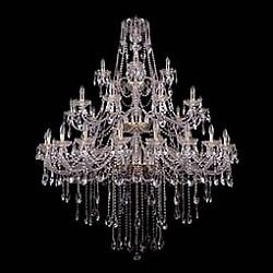 Подвесная люстра Bohemia Ivele CrystalБолее 6 ламп<br>Артикул - BI_1415_20_10_5_530_180_G,Бренд - Bohemia Ivele Crystal (Чехия),Коллекция - 1415,Гарантия, месяцы - 24,Высота, мм - 1800,Диаметр, мм - 1460,Размер упаковки, мм - 710x710x350,Тип лампы - компактная люминесцентная [КЛЛ] ИЛИнакаливания ИЛИсветодиодная [LED],Общее кол-во ламп - 35,Напряжение питания лампы, В - 220,Максимальная мощность лампы, Вт - 40,Лампы в комплекте - отсутствуют,Цвет плафонов и подвесок - неокрашенный,Тип поверхности плафонов - прозрачный,Материал плафонов и подвесок - хрусталь,Цвет арматуры - золото, неокрашенный,Тип поверхности арматуры - глянцевый, прозрачный, рельефный,Материал арматуры - металл, стекло,Возможность подлючения диммера - можно, если установить лампу накаливания,Форма и тип колбы - свеча ИЛИ свеча на ветру,Тип цоколя лампы - E14,Класс электробезопасности - I,Общая мощность, Вт - 1400,Степень пылевлагозащиты, IP - 20,Диапазон рабочих температур - комнатная температура,Дополнительные параметры - способ крепления светильника к потолку - на крюке, указана высота светильника без подвеса<br>