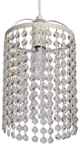 Подвесной светильник MW-LightПодвесные светильники<br>Артикул - MW_464016801,Бренд - MW-Light (Германия),Коллекция - Бриз 6,Гарантия, месяцы - 24,Высота, мм - 230-1000,Диаметр, мм - 150,Тип лампы - компактная люминесцентная [КЛЛ] ИЛИнакаливания ИЛИсветодиодная [LED],Общее кол-во ламп - 1,Напряжение питания лампы, В - 220,Максимальная мощность лампы, Вт - 60,Лампы в комплекте - отсутствуют,Цвет плафонов и подвесок - неокрашенный,Тип поверхности плафонов - прозрачный,Материал плафонов и подвесок - хрусталь,Цвет арматуры - золото, слоновая кость,Тип поверхности арматуры - матовый, рельефный,Материал арматуры - металл,Возможность подлючения диммера - можно, если установить лампу накаливания,Тип цоколя лампы - E14,Класс электробезопасности - I,Степень пылевлагозащиты, IP - 20,Диапазон рабочих температур - комнатная температура,Дополнительные параметры - способ крепления светильника к потолку - на монтажной пластине, регулируется по высоте<br>
