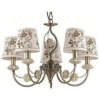 Подвесная люстра Odeon LightЛюстры<br>Артикул - OD_3216_5,Бренд - Odeon Light (Италия),Коллекция - Zaritta,Гарантия, месяцы - 24,Высота, мм - 370-970,Диаметр, мм - 620,Тип лампы - компактная люминесцентная [КЛЛ] ИЛИнакаливания ИЛИсветодиодная [LED],Общее кол-во ламп - 5,Напряжение питания лампы, В - 220,Максимальная мощность лампы, Вт - 40,Лампы в комплекте - отсутствуют,Цвет плафонов и подвесок - белый с коричневым рисунком,Тип поверхности плафонов - матовый,Материал плафонов и подвесок - стекло,Цвет арматуры - бронза,Тип поверхности арматуры - матовый,Материал арматуры - металл,Количество плафонов - 5,Возможность подлючения диммера - можно, если установить лампу накаливания,Тип цоколя лампы - E14,Класс электробезопасности - I,Общая мощность, Вт - 200,Степень пылевлагозащиты, IP - 20,Диапазон рабочих температур - комнатная температура,Дополнительные параметры - способ крепления светильника к потолку - на крюке, регулируется по высоте<br>