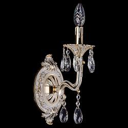 Бра Bohemia Ivele CrystalС 1 лампой<br>Артикул - BI_1700_1_110_A_GW,Бренд - Bohemia Ivele Crystal (Чехия),Коллекция - 1700,Гарантия, месяцы - 12,Высота, мм - 250,Размер упаковки, мм - 250x180x170,Тип лампы - компактная люминесцентная [КЛЛ] ИЛИнакаливания ИЛИсветодиодная [LED],Общее кол-во ламп - 1,Напряжение питания лампы, В - 220,Максимальная мощность лампы, Вт - 40,Лампы в комплекте - отсутствуют,Цвет плафонов и подвесок - неокрашенный,Тип поверхности плафонов - прозрачный,Материал плафонов и подвесок - хрусталь,Цвет арматуры - золото беленое,Тип поверхности арматуры - глянцевый, рельефный,Материал арматуры - металл,Возможность подлючения диммера - можно, если установить лампу накаливания,Форма и тип колбы - свеча ИЛИ свеча на ветру,Тип цоколя лампы - E14,Класс электробезопасности - I,Степень пылевлагозащиты, IP - 20,Диапазон рабочих температур - комнатная температура,Дополнительные параметры - способ крепления светильника – на монтажной пластине, светильник предназначен для использования со скрытой проводкой<br>