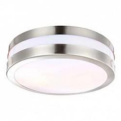 Накладной светильник GloboНакладные светильники<br>Артикул - GB_32209,Бренд - Globo (Австрия),Коллекция - Creek,Гарантия, месяцы - 24,Время изготовления, дней - 1,Высота, мм - 85,Диаметр, мм - 285,Размер упаковки, мм - 140x165x165,Тип лампы - компактная люминесцентная [КЛЛ] ИЛИсветодиодная [LED],Общее кол-во ламп - 1,Напряжение питания лампы, В - 220,Максимальная мощность лампы, Вт - 11,Лампы в комплекте - отсутствуют,Цвет плафонов и подвесок - белый,Тип поверхности плафонов - матовый,Материал плафонов и подвесок - полимер,Цвет арматуры - серый,Тип поверхности арматуры - матовый,Материал арматуры - металл,Тип цоколя лампы - E27,Класс электробезопасности - I,Степень пылевлагозащиты, IP - 44,Диапазон рабочих температур - от -40^C до +40^C<br>