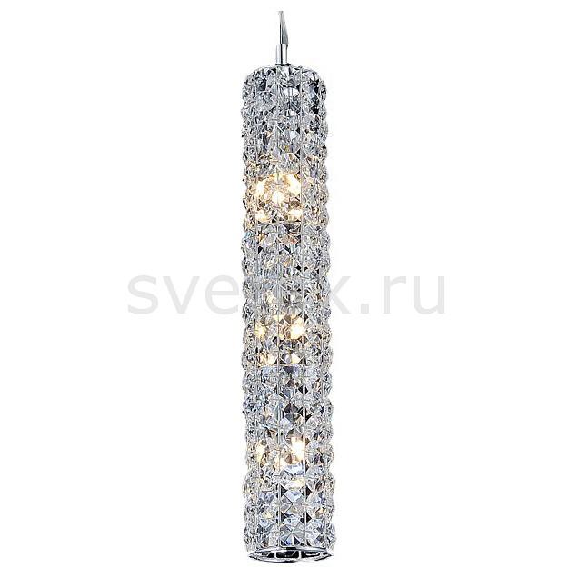 Подвесной светильник OmniluxПодвесные светильники<br>Артикул - OM_OML-42803-03,Бренд - Omnilux (Италия),Коллекция - OM-428,Гарантия, месяцы - 24,Высота, мм - 320-1500,Диаметр, мм - 150,Тип лампы - светодиодная [LED],Общее кол-во ламп - 3,Максимальная мощность лампы, Вт - 1,Лампы в комплекте - светодиодные [LED],Цвет плафонов и подвесок - неокрашенный,Тип поверхности плафонов - прозрачный,Материал плафонов и подвесок - хрусталь,Цвет арматуры - хром,Тип поверхности арматуры - глянцевый,Материал арматуры - металл,Количество плафонов - 1,Возможность подлючения диммера - нельзя,Экономичнее лампы накаливания - в 10 раз,Класс электробезопасности - I,Напряжение питания, В - 220,Общая мощность, Вт - 3,Степень пылевлагозащиты, IP - 20,Диапазон рабочих температур - комнатная температура,Дополнительные параметры - способ крепления светильника к потолку – на монтажной пластине, регулируется по высоте<br>