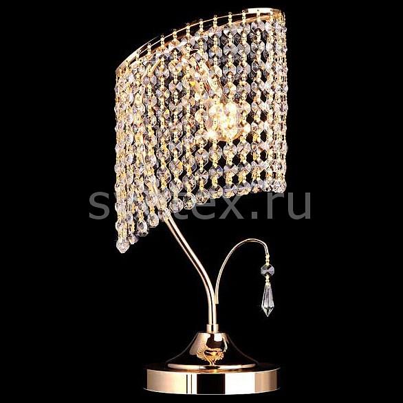 Фото Настольная лампа Eurosvet E14 220В 60Вт 3122 3122/1 золото Strotskis  настольная лампа