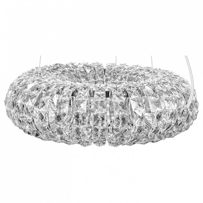 Подвесной светильник LightstarПодвесные светильники<br>Артикул - LS_741064,Бренд - Lightstar (Италия),Коллекция - Onda,Гарантия, месяцы - 24,Время изготовления, дней - 1,Высота, мм - 290-1190,Диаметр, мм - 440,Тип лампы - галогеновая ИЛИсветодиодная [LED],Общее кол-во ламп - 6,Напряжение питания лампы, В - 220,Максимальная мощность лампы, Вт - 40,Лампы в комплекте - отсутствуют,Цвет плафонов и подвесок - неокрашенный,Тип поверхности плафонов - прозрачный,Материал плафонов и подвесок - хрусталь,Цвет арматуры - хром,Тип поверхности арматуры - глянцевый,Материал арматуры - металл,Количество плафонов - 1,Возможность подлючения диммера - можно,Форма и тип колбы - пальчиковая,Тип цоколя лампы - G9,Класс электробезопасности - I,Общая мощность, Вт - 240,Степень пылевлагозащиты, IP - 20,Диапазон рабочих температур - комнатная температура,Дополнительные параметры - регулируется по высоте,  способ крепления светильника к потолку – на монтажной пластине<br>