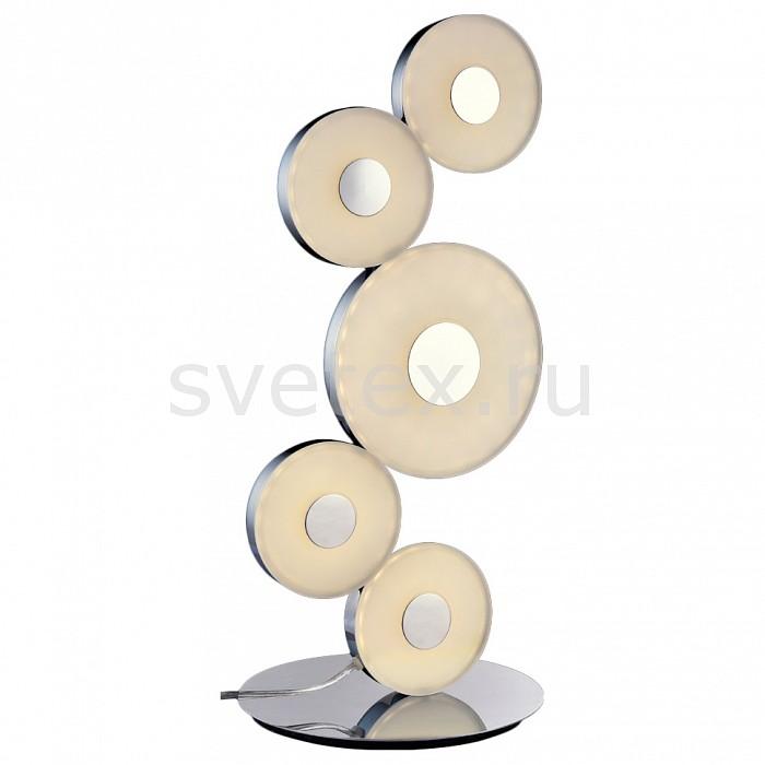 Настольная лампа MaytoniПолимерные<br>Артикул - MY_MOD388-55-N,Бренд - Maytoni (Германия),Коллекция - Coral,Гарантия, месяцы - 24,Высота, мм - 520,Диаметр, мм - 220,Тип лампы - светодиодная [LED],Общее кол-во ламп - 5,Напряжение питания лампы, В - 220,Максимальная мощность лампы, Вт - 21.6,Цвет лампы - белый,Лампы в комплекте - светодиодные [LED],Цвет плафонов и подвесок - белый,Тип поверхности плафонов - матовый,Материал плафонов и подвесок - акрил,Цвет арматуры - хром,Тип поверхности арматуры - глянцевый,Материал арматуры - металл,Количество плафонов - 5,Наличие выключателя, диммера или пульта ДУ - выключатель на проводе,Компоненты, входящие в комплект - провод электропитания с вилкой без заземления,Цветовая температура, K - 4000 K,Световой поток, лм - 1430,Экономичнее лампы накаливания - в 4.8 раза,Светоотдача, лм/Вт - 66,Ресурс лампы - 10 тыс. часов,Класс электробезопасности - II,Общая мощность, Вт - 108,Степень пылевлагозащиты, IP - 20,Диапазон рабочих температур - комнатная температура<br>
