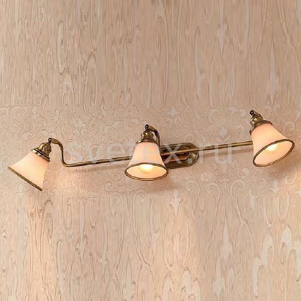Спот CitiluxСпоты<br>Артикул - CL511533,Бренд - Citilux (Дания),Коллекция - Прованс,Гарантия, месяцы - 24,Время изготовления, дней - 1,Длина, мм - 560,Выступ, мм - 150,Размер упаковки, мм - 580x200x130,Тип лампы - компактная люминесцентная [КЛЛ] ИЛИнакаливания ИЛИсветодиодная [LED],Общее кол-во ламп - 3,Напряжение питания лампы, В - 220,Максимальная мощность лампы, Вт - 60,Лампы в комплекте - отсутствуют,Цвет плафонов и подвесок - белый с бронзовой каймой,Тип поверхности плафонов - матовый,Материал плафонов и подвесок - стекло,Цвет арматуры - бронза,Тип поверхности арматуры - матовый,Материал арматуры - металл,Количество плафонов - 3,Возможность подлючения диммера - можно, если установить лампу накаливания,Тип цоколя лампы - E14,Класс электробезопасности - I,Общая мощность, Вт - 180,Степень пылевлагозащиты, IP - 20,Диапазон рабочих температур - комнатная температура,Дополнительные параметры - поворотный светильник<br>