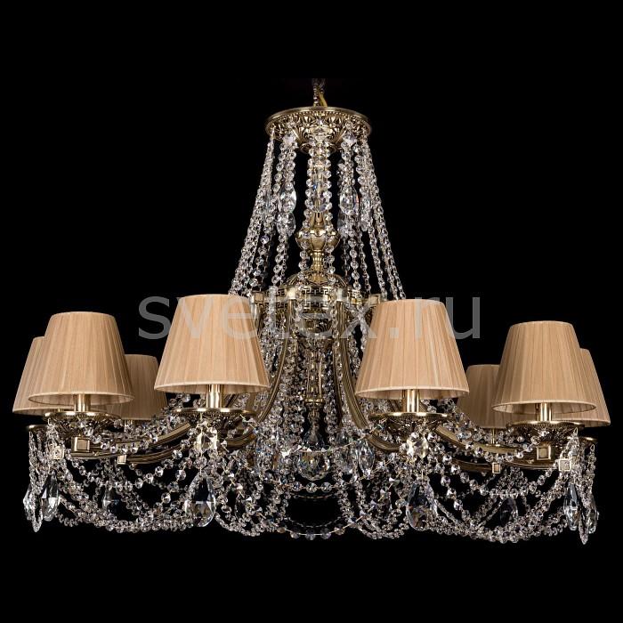 Подвесная люстра Bohemia Ivele CrystalПотолочные светильники и люстры<br>Артикул - BI_1771_10_340_C_GB_SH37-160,Бренд - Bohemia Ivele Crystal (Чехия),Коллекция - 1771,Гарантия, месяцы - 24,Высота, мм - 740,Диаметр, мм - 1000,Размер упаковки, мм - 710x710x350,Тип лампы - компактная люминесцентная [КЛЛ] ИЛИнакаливания ИЛИсветодиодная [LED],Общее кол-во ламп - 10,Напряжение питания лампы, В - 220,Максимальная мощность лампы, Вт - 40,Лампы в комплекте - отсутствуют,Цвет плафонов и подвесок - светло-коричневый, неокрашенный,Тип поверхности плафонов - матовый, прозрачный,Материал плафонов и подвесок - текстиль, хрусталь,Цвет арматуры - золото черненое,Тип поверхности арматуры - глянцевый,Материал арматуры - металл,Количество плафонов - 10,Возможность подлючения диммера - можно, если установить лампу накаливания,Тип цоколя лампы - E14,Класс электробезопасности - I,Общая мощность, Вт - 400,Степень пылевлагозащиты, IP - 20,Диапазон рабочих температур - комнатная температура,Дополнительные параметры - способ крепления светильника к потолку - на крюке, указана высота светильники без подвеса<br>