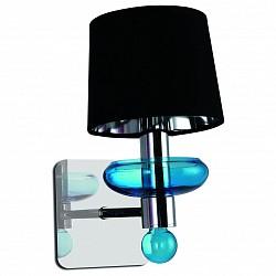 Бра DivinareТекстильный плафон<br>Артикул - DV_1155_01_AP-1,Бренд - Divinare (Италия),Коллекция - Veneto,Гарантия, месяцы - 24,Высота, мм - 280,Тип лампы - компактная люминесцентная [КЛЛ] ИЛИнакаливания ИЛИсветодиодная [LED],Общее кол-во ламп - 1,Напряжение питания лампы, В - 220,Максимальная мощность лампы, Вт - 60,Лампы в комплекте - отсутствуют,Цвет плафонов и подвесок - черный,Тип поверхности плафонов - матовый,Материал плафонов и подвесок - текстиль,Цвет арматуры - синий, хром,Тип поверхности арматуры - глянцевый, прозрачный,Материал арматуры - металл, стекло,Возможность подлючения диммера - можно, если установить лампу накаливания,Тип цоколя лампы - E14,Класс электробезопасности - I,Степень пылевлагозащиты, IP - 20,Диапазон рабочих температур - комнатная температура,Дополнительные параметры - способ крепления светильника на стене – на монтажной пластине, светильник предназначен для использования со скрытой проводкой<br>