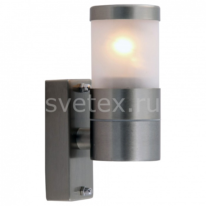 Светильник на штанге Arte LampСветильники<br>Артикул - AR_A3201AL-1SS,Бренд - Arte Lamp (Италия),Коллекция - Rapido,Гарантия, месяцы - 24,Ширина, мм - 60,Высота, мм - 170,Выступ, мм - 95,Тип лампы - компактная люминесцентная [КЛЛ] ИЛИсветодиодная [LED],Общее кол-во ламп - 1,Напряжение питания лампы, В - 220,Максимальная мощность лампы, Вт - 25,Лампы в комплекте - отсутствуют,Цвет плафонов и подвесок - неокрашенный,Тип поверхности плафонов - матовый,Материал плафонов и подвесок - поликарбонат,Цвет арматуры - серебро,Тип поверхности арматуры - матовый,Материал арматуры - сталь,Количество плафонов - 1,Тип цоколя лампы - E27,Класс электробезопасности - I,Степень пылевлагозащиты, IP - 44,Диапазон рабочих температур - от -40^C до +40^C,Дополнительные параметры - способ крепления светильника к стене - на монтажной пластине<br>