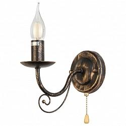 Бра TopLightС 1 лампой<br>Артикул - TPL_TL6010B-01,Бренд - TopLight (Россия),Коллекция - Dalila,Гарантия, месяцы - 24,Высота, мм - 210,Тип лампы - компактная люминесцентная [КЛЛ] ИЛИнакаливания ИЛИсветодиодная [LED],Общее кол-во ламп - 1,Напряжение питания лампы, В - 220,Максимальная мощность лампы, Вт - 60,Лампы в комплекте - отсутствуют,Цвет арматуры - черный с золотой патиной,Тип поверхности арматуры - матовый,Материал арматуры - металл,Возможность подлючения диммера - можно, если установить лампу накаливания,Форма и тип колбы - свеча ИЛИ свеча на ветру,Тип цоколя лампы - E14,Класс электробезопасности - I,Степень пылевлагозащиты, IP - 20,Диапазон рабочих температур - комнатная температура,Дополнительные параметры - способ крепления светильника к стене - на монтажной пластине, светильник предназначен для использования со скрытой проводкой<br>