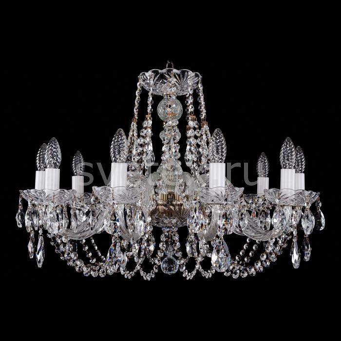 Фото Подвесная люстра Bohemia Ivele Crystal 1406 1406/10/240/Pa