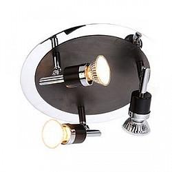 Спот GloboС 3 лампами<br>Артикул - GB_57600-3,Бренд - Globo (Австрия),Коллекция - Diamondbacks,Гарантия, месяцы - 24,Диаметр, мм - 240,Размер упаковки, мм - 820x130x210,Тип лампы - галогеновая,Общее кол-во ламп - 3,Напряжение питания лампы, В - 220,Максимальная мощность лампы, Вт - 50,Лампы в комплекте - галогеновые GU10,Цвет арматуры - хром, черный,Тип поверхности арматуры - глянцевый, матовый,Материал арматуры - металл,Возможность подлючения диммера - можно,Форма и тип колбы - полусферическая с рефлектором,Тип цоколя лампы - GU10,Класс электробезопасности - I,Общая мощность, Вт - 150,Степень пылевлагозащиты, IP - 20,Диапазон рабочих температур - комнатная температура,Дополнительные параметры - поворотный светильник<br>
