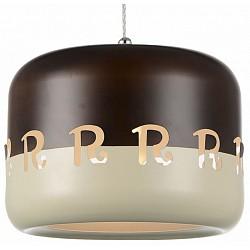 Подвесной светильник ST-LuceБарные<br>Артикул - SL260.303.01,Бренд - ST-Luce (Китай),Коллекция - SL260,Гарантия, месяцы - 24,Высота, мм - 210-1370,Диаметр, мм - 280,Размер упаковки, мм - 340х340х270,Тип лампы - компактная люминесцентная [КЛЛ] ИЛИнакаливания ИЛИсветодиодная [LED],Общее кол-во ламп - 1,Напряжение питания лампы, В - 220,Максимальная мощность лампы, Вт - 40,Лампы в комплекте - отсутствуют,Цвет плафонов и подвесок - бежевый, кофейный,Тип поверхности плафонов - матовый,Материал плафонов и подвесок - металл,Цвет арматуры - хром,Тип поверхности арматуры - глянцевый,Материал арматуры - металл,Возможность подлючения диммера - можно, если установить лампу накаливания,Тип цоколя лампы - E27,Класс электробезопасности - I,Степень пылевлагозащиты, IP - 20,Диапазон рабочих температур - комнатная температура,Дополнительные параметры - регулируется по высоте, способ крепления светильника к потолку – на монтажной пластине<br>