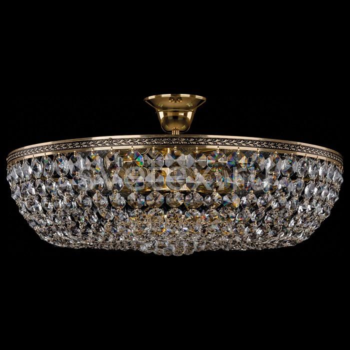 Фото Люстра на штанге Bohemia Ivele Crystal 1928 1928/55Z/GB