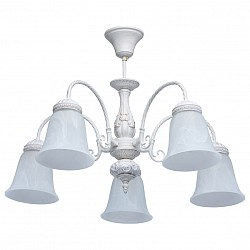 Люстра на штанге MW-Light5 или 6 ламп<br>Артикул - MW_450015005,Бренд - MW-Light (Германия),Коллекция - Ариадна 18,Гарантия, месяцы - 24,Высота, мм - 440,Диаметр, мм - 660,Тип лампы - компактная люминесцентная [КЛЛ] ИЛИнакаливания ИЛИсветодиодная [LED],Общее кол-во ламп - 5,Напряжение питания лампы, В - 220,Максимальная мощность лампы, Вт - 60,Лампы в комплекте - отсутствуют,Цвет плафонов и подвесок - белый,Тип поверхности плафонов - матовый,Материал плафонов и подвесок - стекло,Цвет арматуры - белый,Тип поверхности арматуры - матовый, рельефный,Материал арматуры - металл,Возможность подлючения диммера - можно, если установить лампу накаливания,Тип цоколя лампы - E27,Класс электробезопасности - I,Общая мощность, Вт - 300,Степень пылевлагозащиты, IP - 20,Диапазон рабочих температур - комнатная температура,Дополнительные параметры - способ крепления к потолку - на монтажной пластине<br>