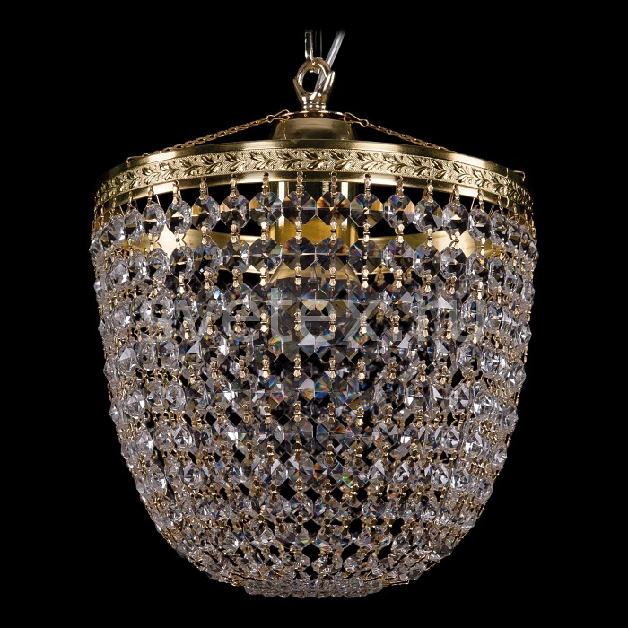 Фото Люстра на штанге Bohemia Ivele Crystal 1920 1920/25/O/G
