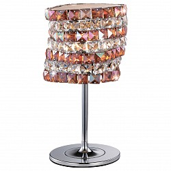 Настольная лампа Odeon LightНастольные лампы<br>Артикул - OD_2606_1T,Бренд - Odeon Light (Италия),Коллекция - Astli,Гарантия, месяцы - 24,Высота, мм - 440,Диаметр, мм - 220,Тип лампы - галогеновая,Общее кол-во ламп - 1,Напряжение питания лампы, В - 220,Максимальная мощность лампы, Вт - 40,Лампы в комплекте - галогеновая G9,Цвет плафонов и подвесок - бургундский, неокрашенный,Тип поверхности плафонов - матовый,Материал плафонов и подвесок - стекло, хрусталь,Цвет арматуры - хром,Тип поверхности арматуры - глянцевый,Материал арматуры - металл,Форма и тип колбы - пальчиковая,Тип цоколя лампы - G9,Класс электробезопасности - II,Степень пылевлагозащиты, IP - 20,Диапазон рабочих температур - комнатная температура<br>